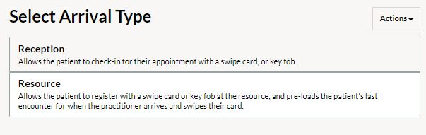 juvonno_swipe_card_patient_arrival_check_in_page.JPG